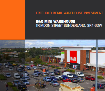 B&Q Mini Warehouse, Trimdon Street Sunderland, SR4 6DW