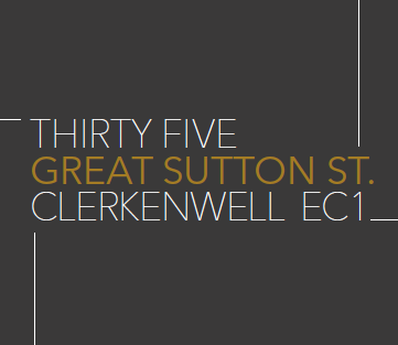 35 Great Sutton Street, Clerkenwell EC1